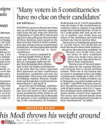 Many Voters in 5 Constituencies Have No Clue on Their Candidates